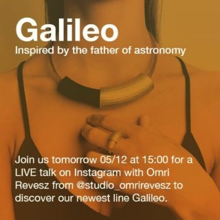 🔥🔥Tomorrow after lunch pop in our IG Live at 15:00 (EU Time Zone).🔥🔥 We will be having a few words with Omri Revesz from @studio_omrirevesz about our latest line Galileo 🔭 He is a friend and designer from Tel Aviv that we have had the pleasure to work with in the past years!!!   Join the chat and ask your questions! We will be happy to share details of the collection with you!!!  #maison203 #uniquejewelry #3dprintedjewelry #contemporaryjewellery #handmade#craftmanship #joalheria #jewelrylover #artjewellery #joyeriacontemporanea #joiascontemporaneas #bijouxcreateur #bijoucontemporain #joalheria #schmuckdesign #schmuckkunst #gioiellocontemporaneo #coolstuff #coolpresents #xmas2020 #uniquestuff