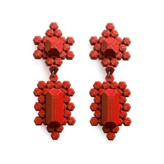 The Stones Earrings L, one of our best sellers, in 7 new colours for this winter season.🧣🦌 Made with PLA, a biodegradable plastic derived from corn starch. 100% recyclable. 🌎♻️  Online with a special price until Xmas! 🎄🎅  #xmasgiftsforher #3dprintedjewelry #xmasearrings #3dprintedearrings #earringsforxmas #giftsforher #contemporaryjewellery #gioiellidesign #gioiellicontemporanei #regalinatale