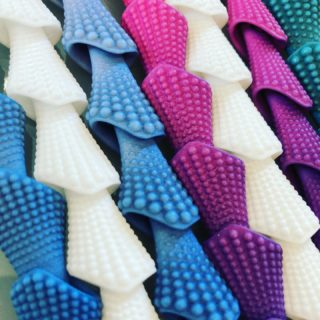 ⚡️ NEW ⚡️ New Collection coming! We are testing some shades today 💜💙  Any thoughts⁉️  #maison203 #3dprintedjewelry #contemporaryjewelry #madeinitaly #digitaljewelry #gioiellocontemporaneo #bijouxcontemporains #lightjewelry