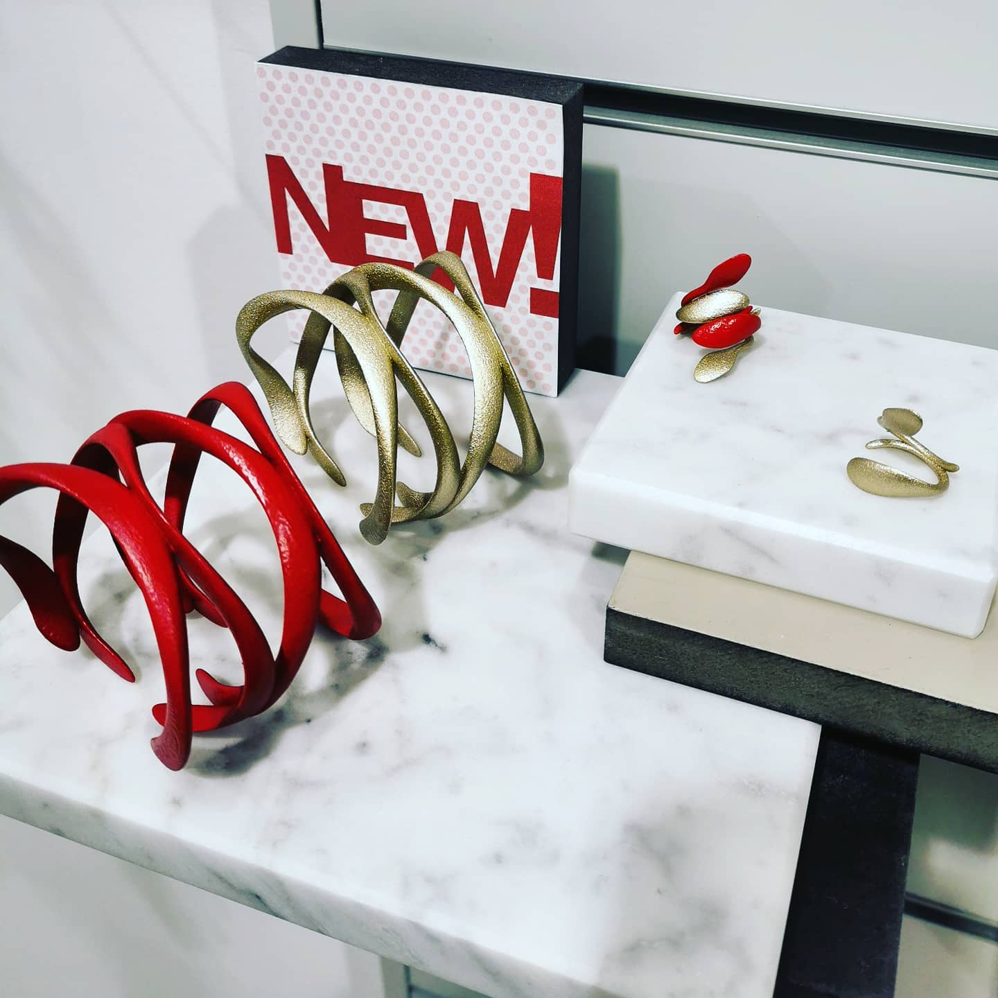 Our new collections for this FW2020 have landed in our flagship store in Venice. 🛍️💍 Come visit to discover them in many colour options!!!!  Elle - design by @vittorio_massimo Galileo - design by @studio_omrirevesz Athena - design by @sovrappensierodesign  Soon in our new website which will be soon online!!!!